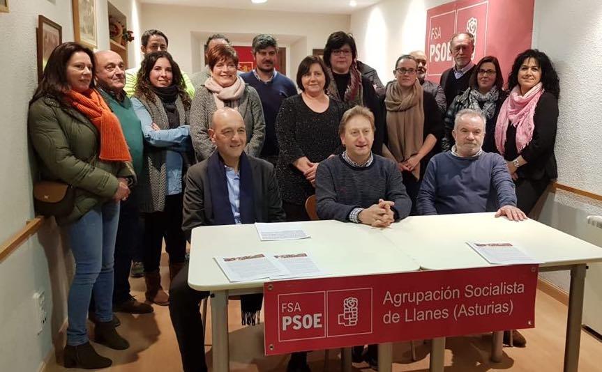 La Ejecutiva socialista de Llanes destaca la intachable integridad de José Manuel Herrero