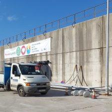 El Principado inicia la renovación del alumbrado en el puerto de Llanes