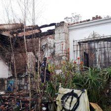 Fallece uno de los dos heridos en el incendio de una vivienda en Ribadesella