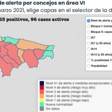 La mejoría continúa por el Oriente de Asturias salvo en dos municipios