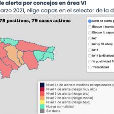 El Oriente de Asturias suma 10 nuevos contagios. Te contamos en qué concejos