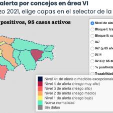 Solo Ribadesella mejora en el Oriente de Asturias con la llegada del mes de marzo