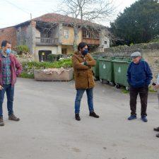 El pueblo de Oviu (Llanes) estrenará nueva plaza dentro de unos meses
