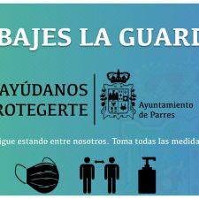 El alcalde de Parres hace un llamamiento a la protección personal de los vecinos ante la cercanía de Cangas y Piloña