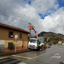 Parres completará la renovación del alumbrado público de todo el concejo con la inversión de 780.000 euros