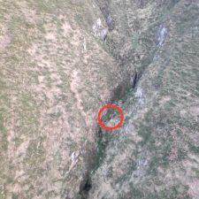 Rescatada una pareja que se queda enriscada en un cañón del concejo de Piloña