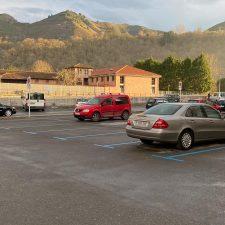 La zona azul vuelve a la ciudad de Cangas de Onís con 151 plazas de aparcamiento, 21 mas que en años anteriores