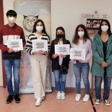 Los alumnos del Instituto de Ribadesella reciben los premios de la XX Olimpiada de Filosofía de Asturias