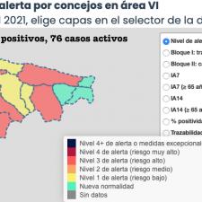 Abril comienza con 14 nuevos positivos en el Oriente de Asturias