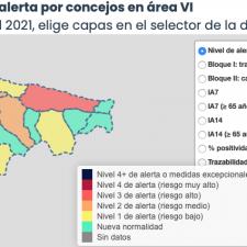 Los contagios vuelven a dispararse en el Oriente de Asturias con 18 nuevos positivos