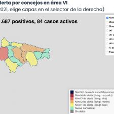 El Oriente de Asturias suma 9 contagios: Dos concejos agravan su situación y otros dos la mejoran