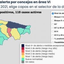 Dos municipios mejoran su situación y solo Llanes la empeora en el Oriente de Asturias