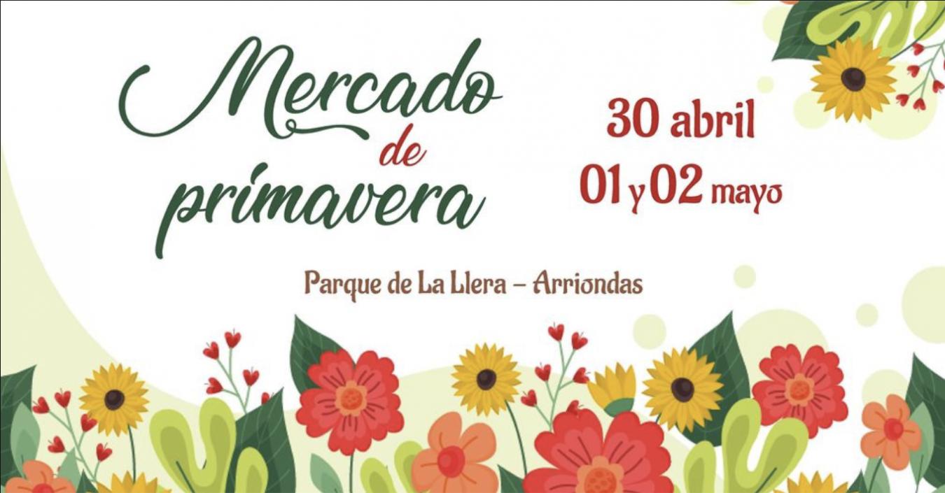El Mercado de Primavera de Arriondas contará con 18 stands de artesanía y alimentación