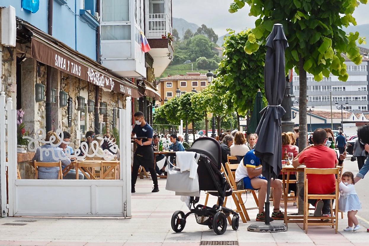 El itinerario peatonal accesible será una realidad en las calles de Ribadesella el 12 de mayo próximo