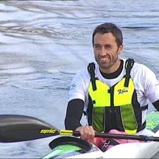 Walter Bouzán buscará en Villajoyosa una plaza para estar en el Mundial de Kayak de Mar de Lanzarote
