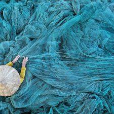 La fotografía de una redera del Vietnam, se lleva el primer premio del Concurso Amartumar de Llanes