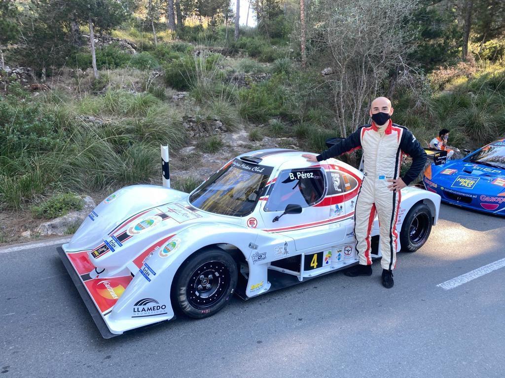El piloto riosellano Benito Pérez inicia la temporada este fin de semana en la 49º Subida Internacional al Fitu