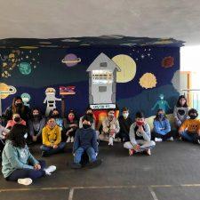 Odisea espacial a la riosellana para despedir el curso escolar de la pandemia
