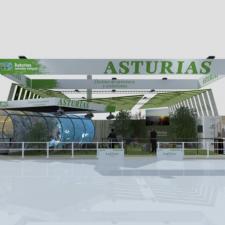 Te presentamos el stand con el que Asturias acudirá la semana que viene a FITUR 2021