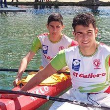 Los riosellanos Javi García, Alejandro Gutiérrez y Celia Llera, Campeones de Asturias de Jóvenes Promesas