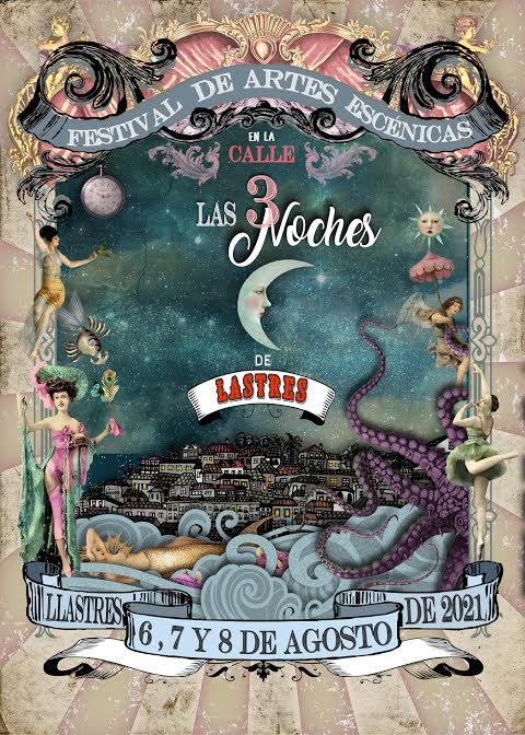 Kristina Gonçalves diseña el cartel para el festival Las Tres Noches de Lastres