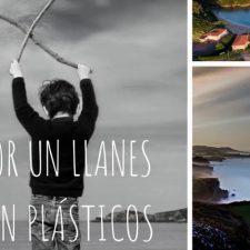 Convocan una recogida de plásticos en la playa de Poo y sus alrededores