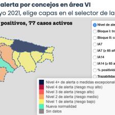 Dos concejos del Oriente de Asturias se reparten los 3 nuevos contagios y entre ellos no está Llanes