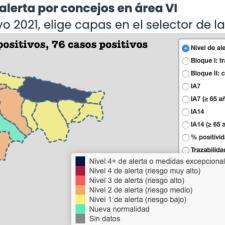 El Oriente de Asturias suma 5 nuevos positivos en medio de otra protesta anunciada