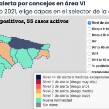 Segunda jornada consecutiva sin contagios en el Oriente de Asturias