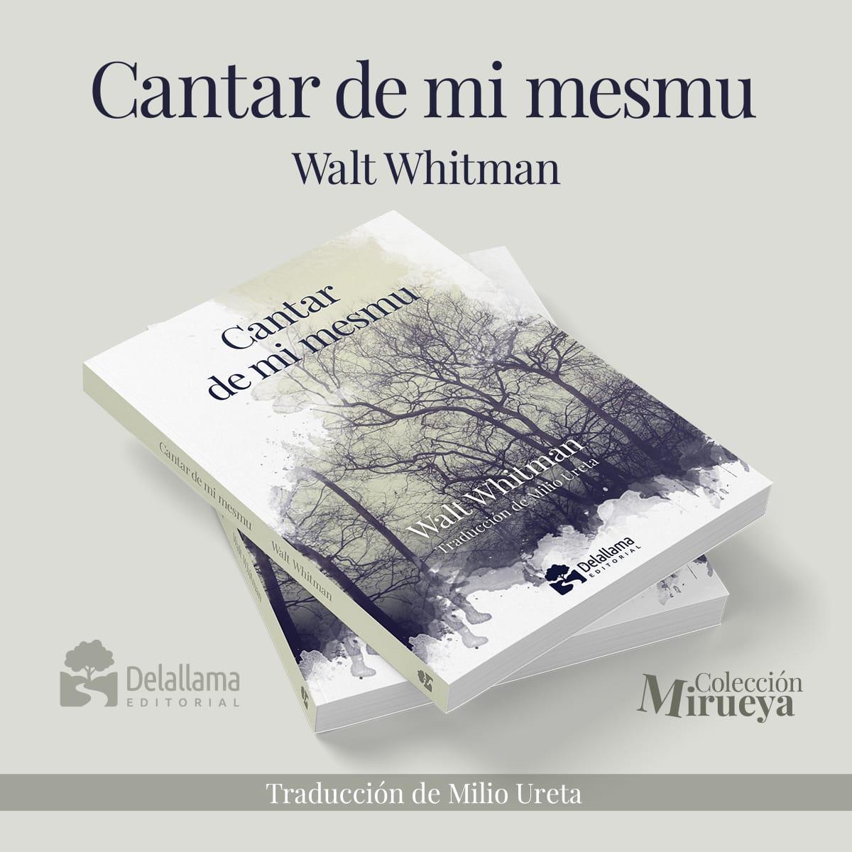 Milio Ureta traduce al asturianu el poema Song of Myself del norteamericano Walt Whitman