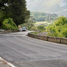 Abierto el tráfico en El Peñón de Ribadesella (N-632) y renovación de toda la señalización vial en Arriondas