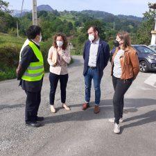Comienza la reparación integral de la carretera de Caldevilla (PI-13) con 218.000 euros de inversión