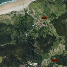 Vega y Barréu inician el camino para incorporarse a la red municipal de aguas de Ribadesella