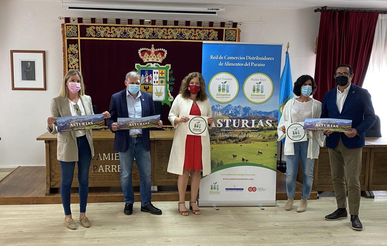 Ocho comercios de Arriondas se integran en la red de distribución de Alimentos del Paraíso