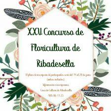 Convocado el XXV Concurso de Floricultura de Ribadesella