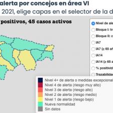 El Principado confirma seis casos de la variante delta de la COVID-19 en Asturias 5 en nuestra comarca