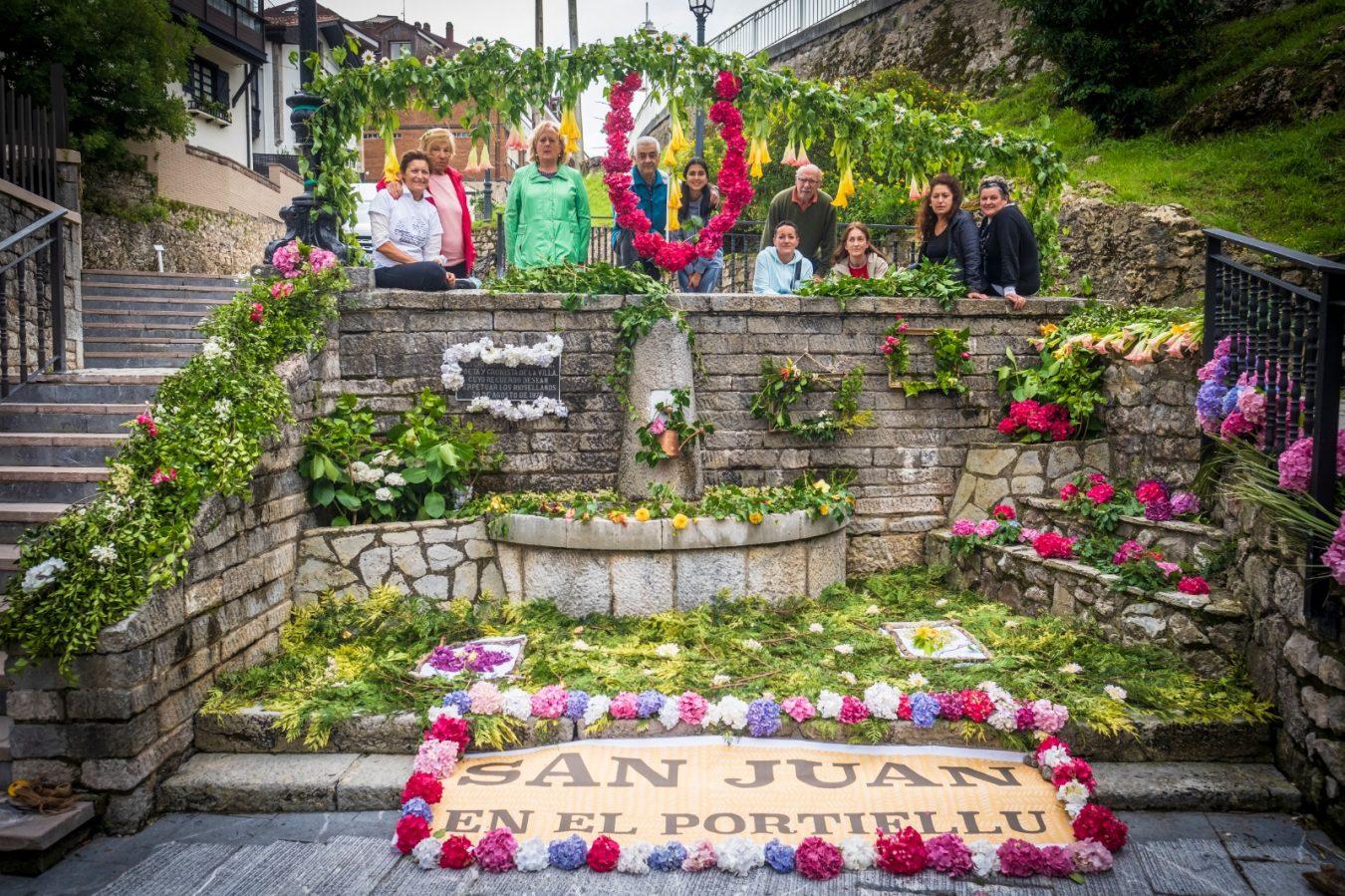El Concursu d'Enramau de Fuentes de Ribadesella recibe catorce proyectos ornamentales