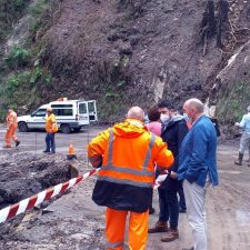 El Principado dará respuesta a los desperfectos de la lluvias en Llanes durante las próximas semanas