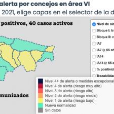 El Oriente de Asturias acumuló 14 positivos en coronavirus durante el fin de semana