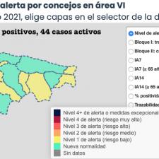 La pandemia sigue repuntando con 4 nuevos positivos en el Oriente de Asturias