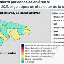 Tres nuevos positivos mantienen el continuo empeoramiento en el Oriente de Asturias