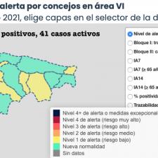 Segundo día consecutivo sin contagios de coronavirus en el Oriente de Asturias