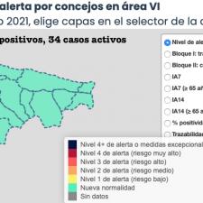 Llanes suma uno de los dos positivos asignados este jueves al Oriente de Asturias