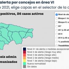 El Oriente de Asturias suma 6 positivos durante el fin de semana, cinco de ellos en Llanes