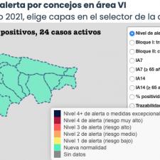 El Oriente de Asturias suma otros dos positivos, pero vuelve a mejorar su situación epidemiológica