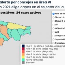 Mayo se despide sin nuevos contagios y con un acumulado de solo 74 positivos en el Oriente de Asturias