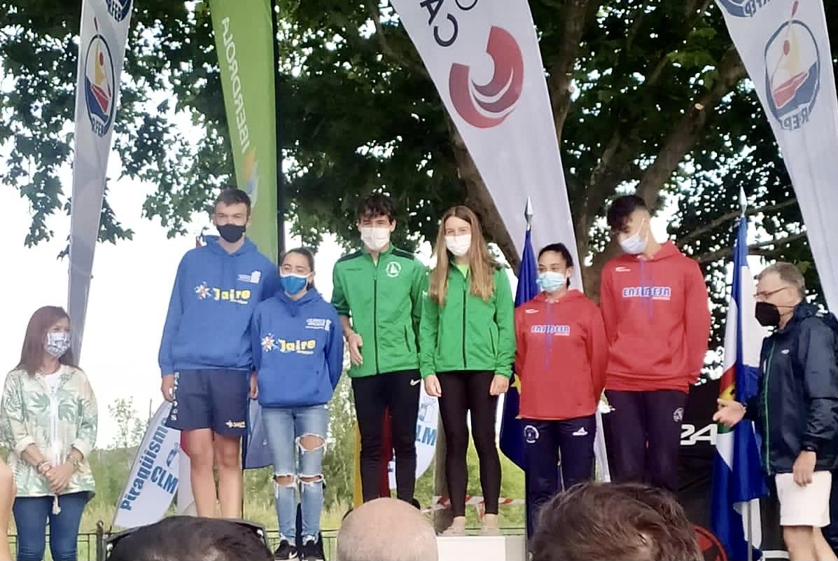 La COPA España de Maratón en Talavera comienza con tormentas y medallas para los piragüistas asturianos