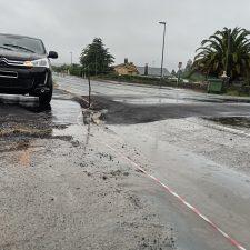 El PP de Colunga cuestiona el paso peatonal que se construye en la N-632 a la altura de La Isla