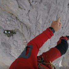 Complicado rescate de un militar de Jaca accidentado en el Urriellu a 220 m de altura
