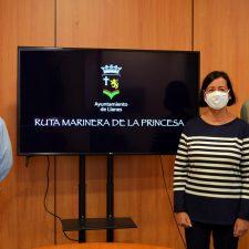 La Cofradía de Llanes presenta la Ruta Marinera de la Princesa, una historia con la que de nuevo aspira al Premio Pueblo Ejemplar de Asturias